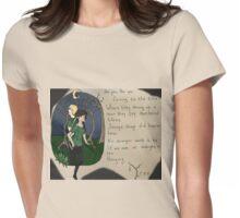 hunger games hanging tree  Womens Fitted T-Shirt