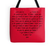 Love Speaks All Languages Tote Bag