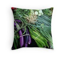 fresh produce Throw Pillow