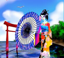 Geisha Walk by SEspider
