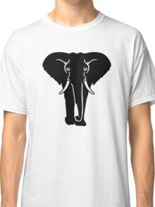 Black elephant Classic T-Shirt