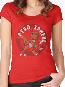 Pyro Sphere Women's Fitted Scoop T-Shirt
