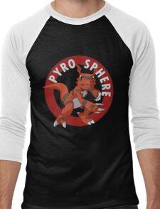 Pyro Sphere Men's Baseball ¾ T-Shirt