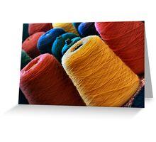 Yarn Greeting Card