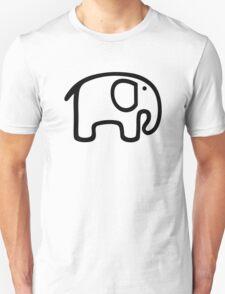 Comic elephant Unisex T-Shirt