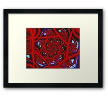 Red 11 Framed Print