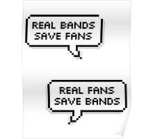 Real Bands Save Fans, Real Fans Save Bands Poster