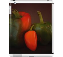 The Three Peppers iPad Case/Skin