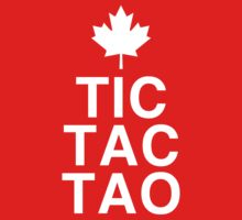 Tic-Tac-Tao Canada World Juniors Shirt by robbclarke