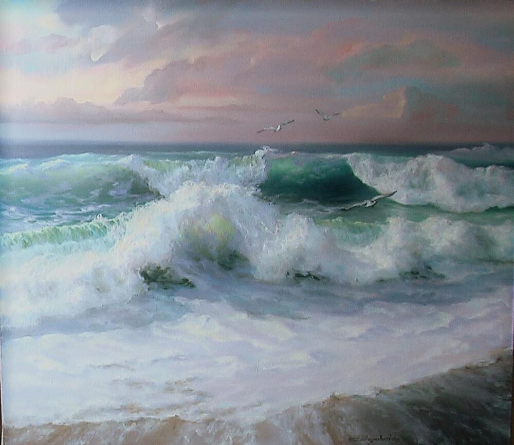 The wave by Sokolovskaya