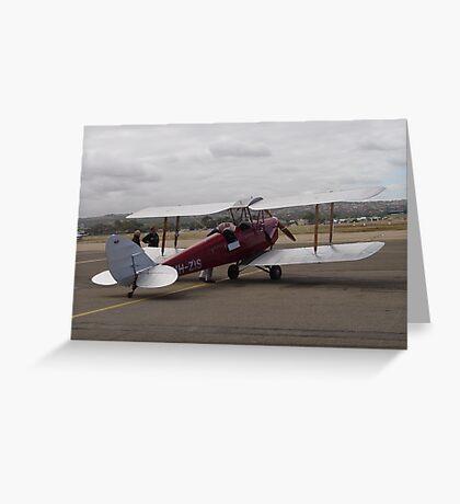photoj Airplane S.A. Flight Centre Greeting Card