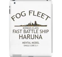 Fog Fleet Haruna iPad Case/Skin