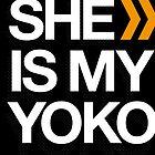 SHE IS MY YOKO by TunTun