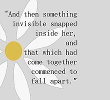 Looking for Alaska Flower + Quote by GeekyToGo