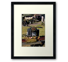 ARMY BIKE Framed Print