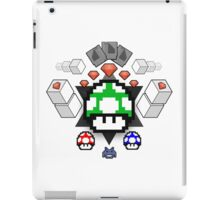 Nerd Coat of Arms, Nintendo Gems iPad Case/Skin