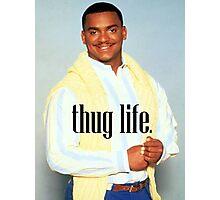 Carlton Thug Life Photographic Print