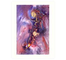 Jazz Miles Davis ELECTRIC 3 Art Print