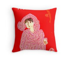 PASADENA LADY 01 Throw Pillow