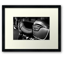 Triumph Motorbike Framed Print