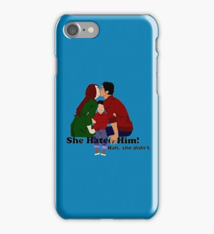 Jily She Hated Him iPhone Case/Skin