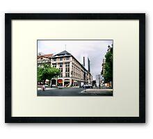 Urban Chronicle Framed Print