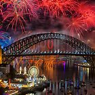What a Blast - Sydney New Years Day 2015 # 5 by Philip Johnson