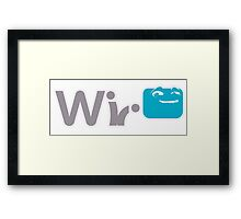 U Watch What Wii Do Framed Print