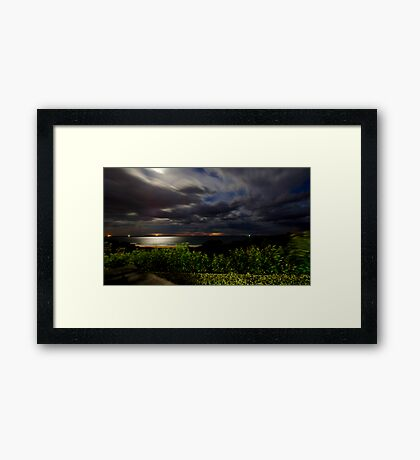 Over the Sea Framed Print