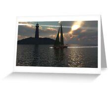 Au-delà des mers / Beyond seas Greeting Card