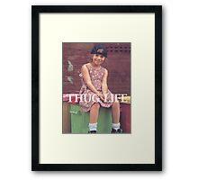 Olsen Twin Thug Life Framed Print