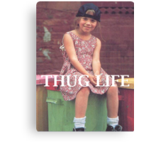 Olsen Twin Thug Life Canvas Print