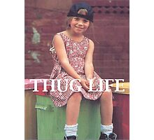 Olsen Twin Thug Life Photographic Print
