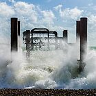 West Pier Splash by Chris Lord