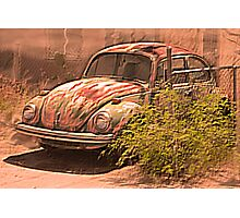 VW rusty-dusty-hot and waiting... 4 U ! Photographic Print