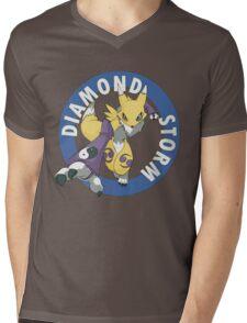 Diamond Storm Mens V-Neck T-Shirt