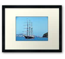 The Spirit of New Zealand in the Bay of Islands.......! Framed Print