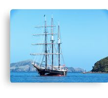 The Spirit of New Zealand in the Bay of Islands.......! Canvas Print