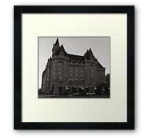 The Chateau Laurier Hotel, Ottawa  Framed Print