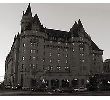 The Chateau Laurier Hotel, Ottawa  Photographic Print