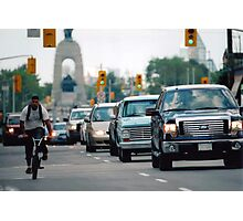 View North on Elgin Street, Ottawa,Canada Photographic Print