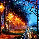 Alley By The Lake 2 — Buy Now Link - www.etsy.com/listing/209253268 by Leonid  Afremov