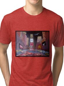 ELVIS in Times Square Tri-blend T-Shirt