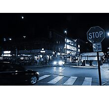 The Byward Market Square at Night Photographic Print