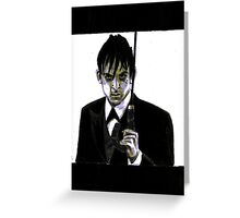 Gotham Oswald Cobblepot Robin Lord Taylor Greeting Card