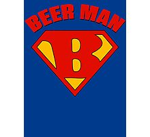 Beer Man Photographic Print
