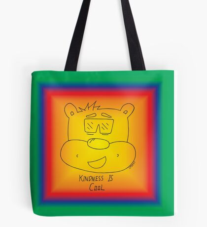 Kindness Is Cool - Rainbow Tote Bag