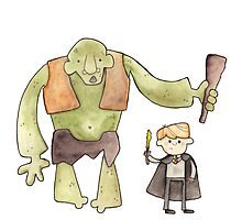 Harry Potter's Troll by Bumble & Bristle