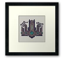 The Crown of Cthulhu Framed Print