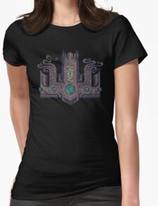 The Crown of Cthulhu Womens Fitted T-Shirt